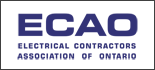 Proud Member Of ECAO - Electrical Contractors Association Of Ontario